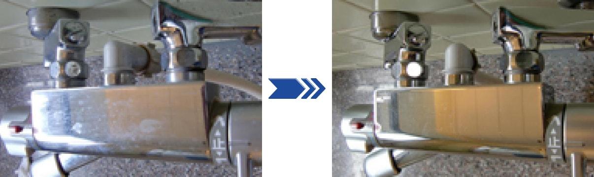 トイレに付着した汚い汚れもクリーニングに成功!