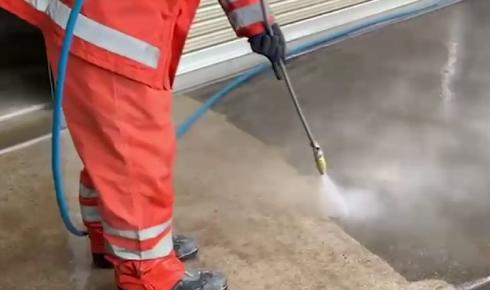 エコロビーム洗浄2