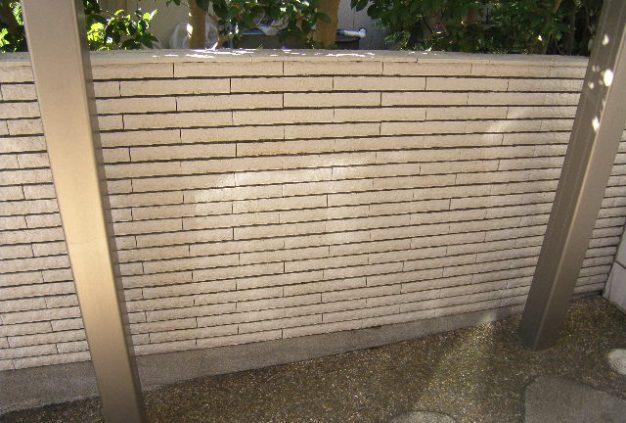 塀垣 レッカノン塗装後